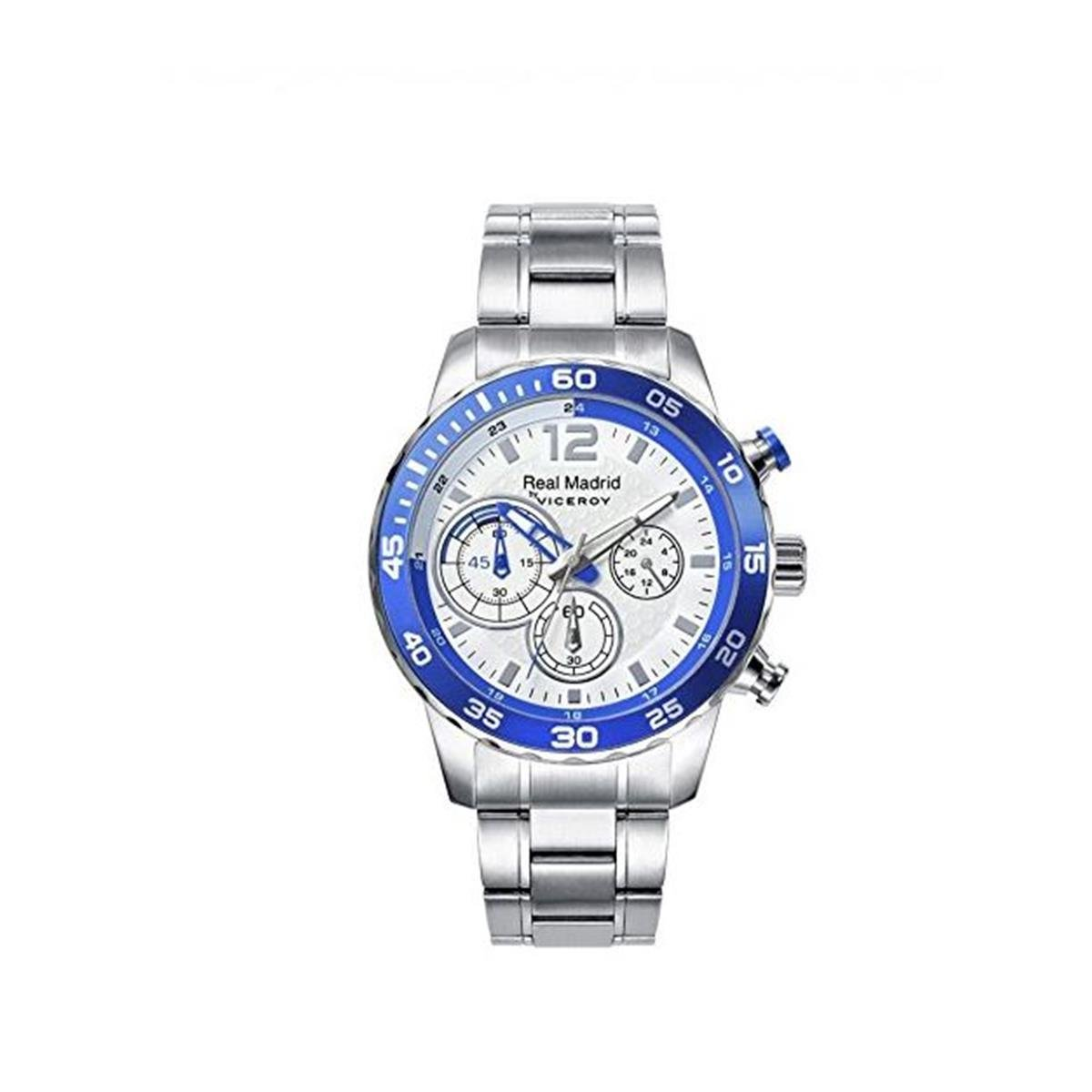 Amazon.com: Reloj Viceroy R. Madrid 40965 – 05 Hombre Crono ...