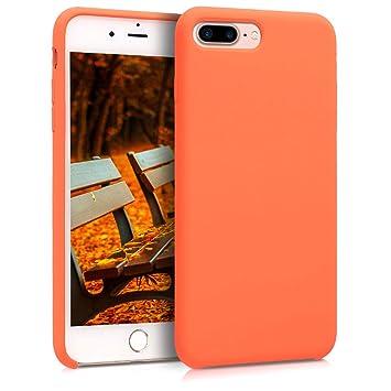 coque iphone 8 plus orange apple