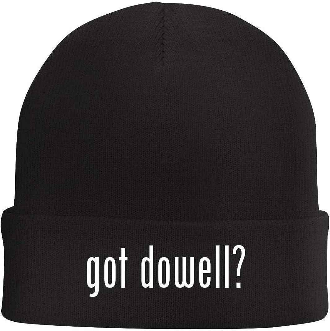 got dowell? Beanie Skull Cap with Fleece Liner