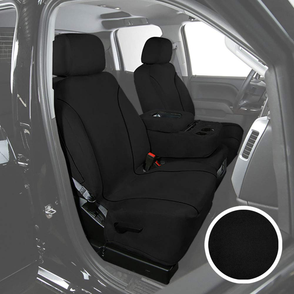 Saddleman S 219903-14 Gray Custom Made Front Low Back Bucket with Airbag Seat Covers