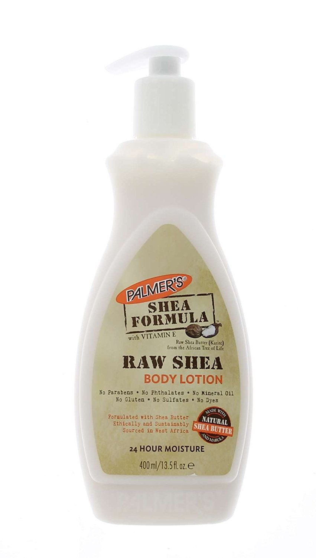 Palmer's Shea Formula Raw Shea Body Lotion, Pump 13.50 oz (Pack of 2)