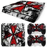 MODFREAKZ™ Console and Controller Vinyl Skin Set – Red Umbrella for PS4 Slim Review