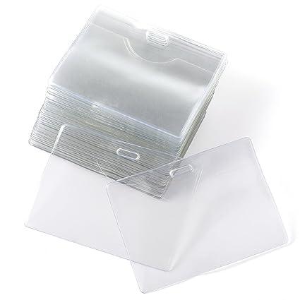 Loted de 50pcs Funda Horizontal de Plástico Transparente para ...