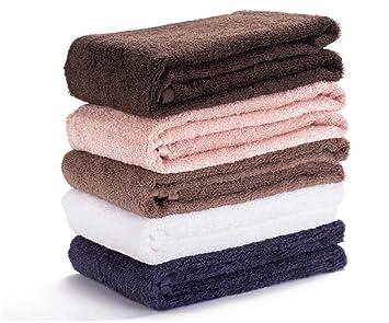 BIANJESUS Toallas de algodón Conjunto Suave Absorbente Comodidad Felpa Hotel Hombres Mujeres niños máquina Lavable al Aire Libre hogar cómodo Familiar: ...