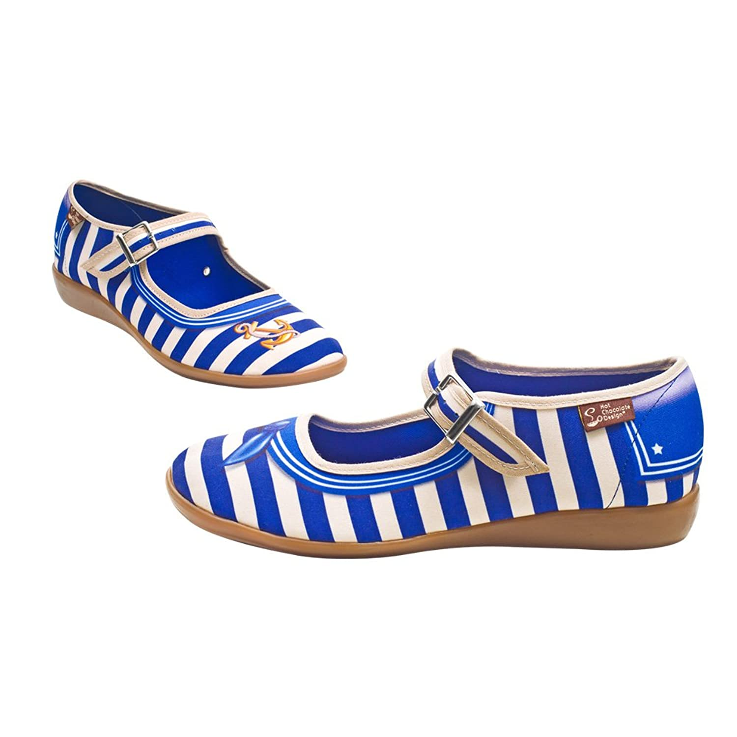 Shop Pin Up Shoes  Sailor Womens Mary Jane Flat $69.99 AT vintagedancer.com
