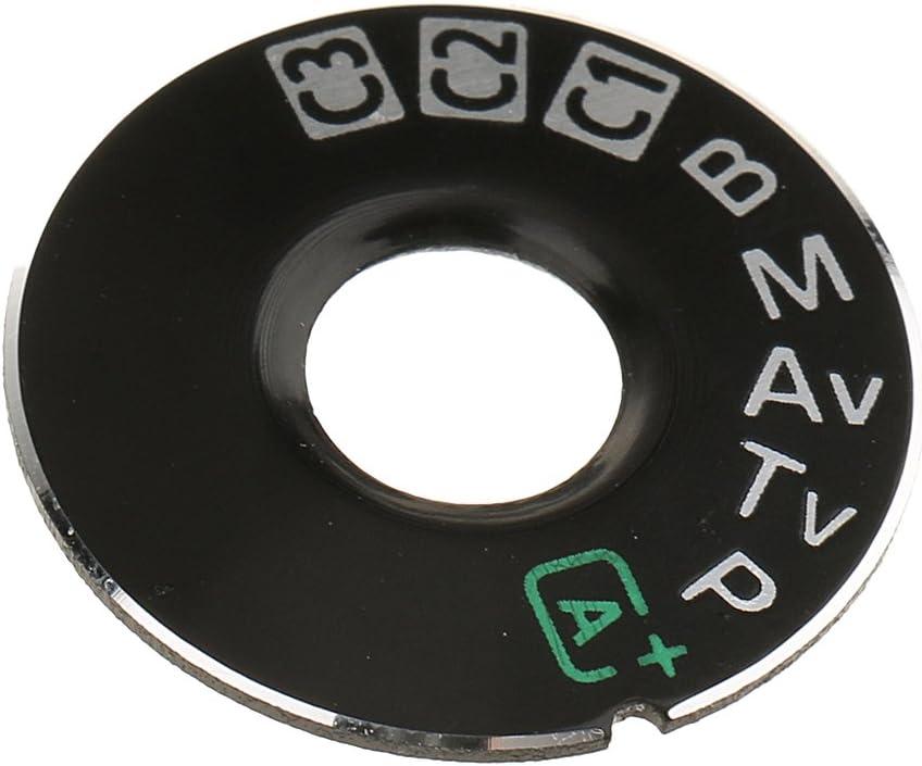 Baoblaze Dial Mode Plate Interface Cap Replacement Part for Canon EOS 5D Mark 3