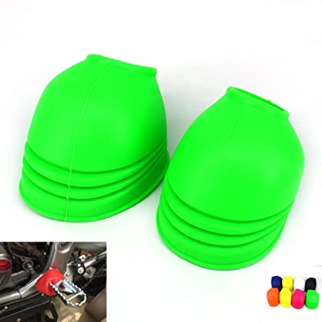 Durable Motorcycle Foot Peg Cover Motocross Off Road Bike Dust-proof Cover New