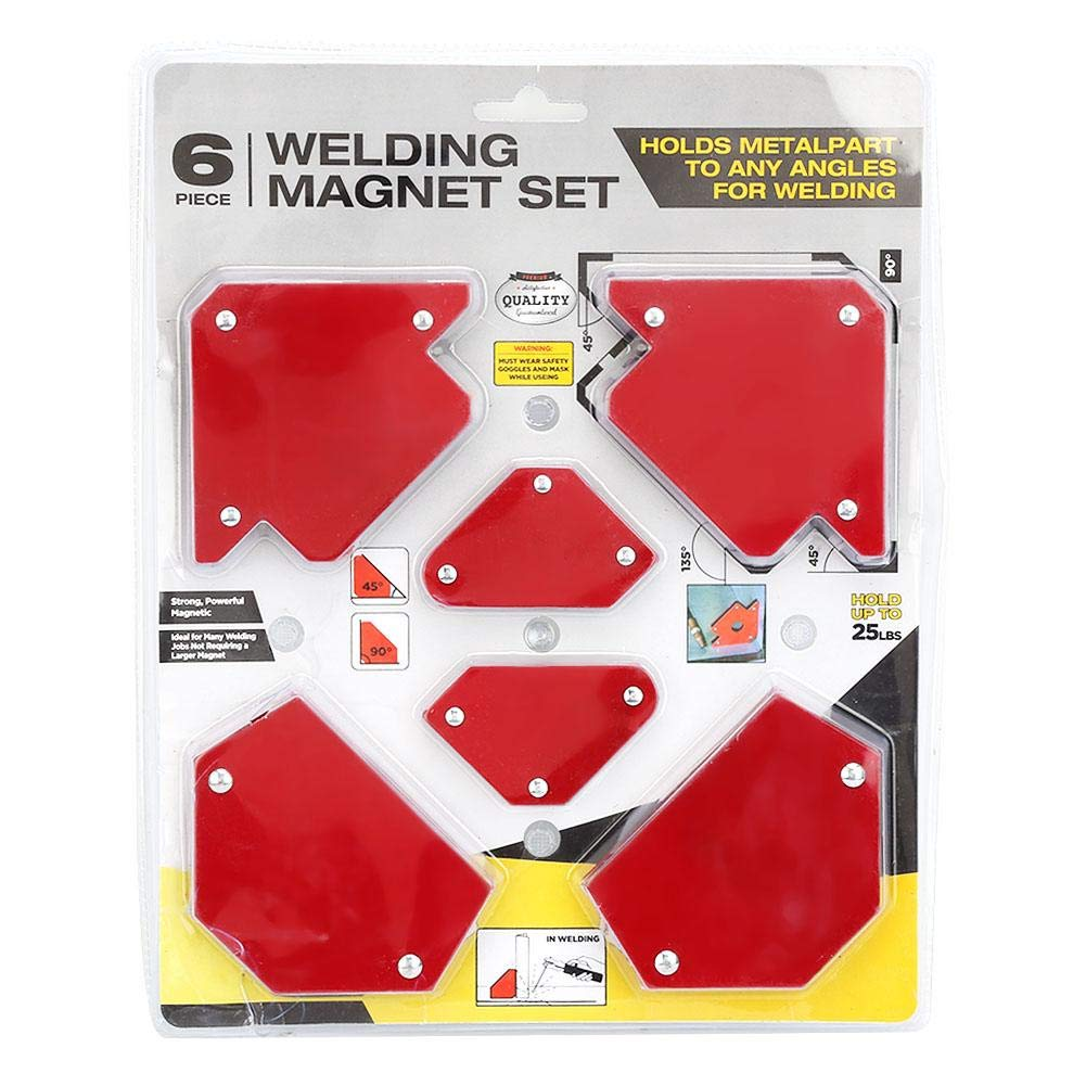 BGS force magnétique support 33 kg force magnétique Angle de soudure support magnétique