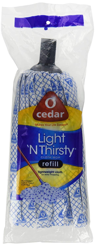 O-Cedar Light 'N Thirsty Cloth Mop Refill (Pack - 4)