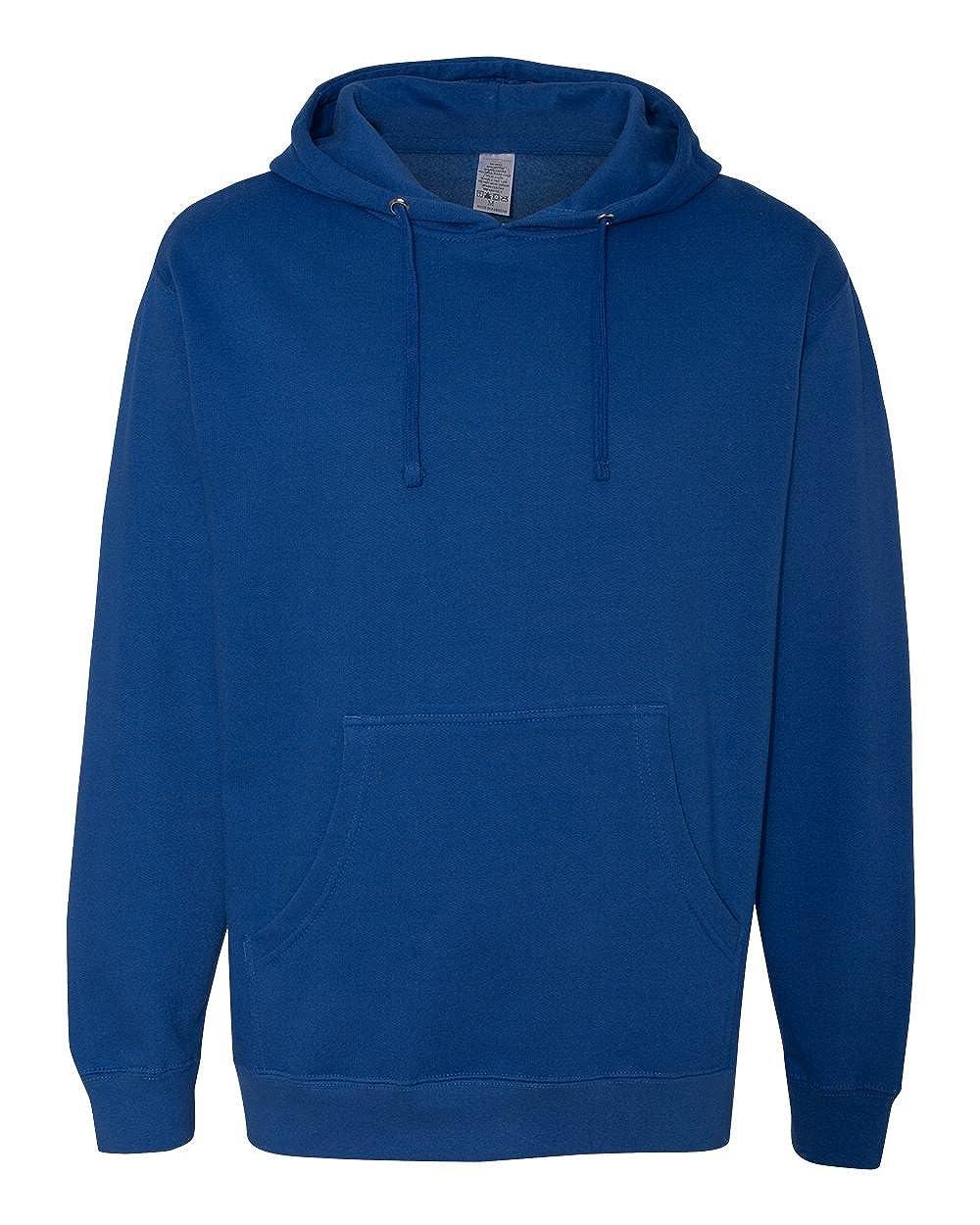 L ITC Mens Midweight Hooded Sweatshirt -ROYAL SS4500