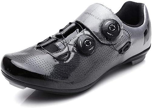 Zapatillas De Bicicleta De Carretera para Hombre Pro Bici del Camino De MTB Utilizan Spin Cycle, Cubierta Equitación Zapatos Ciclismo De Carretera: Amazon.es: Deportes y aire libre