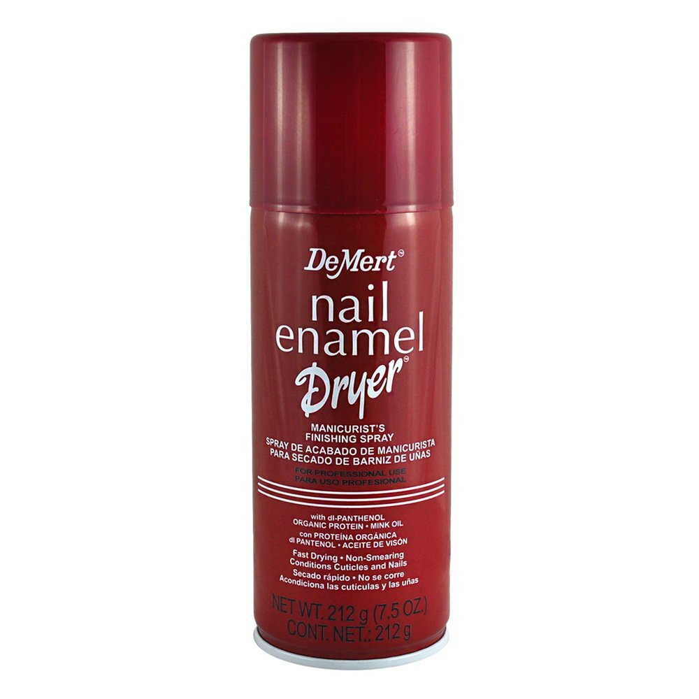 Demert Nail Dry Spray 222 ml (Pack of 6)
