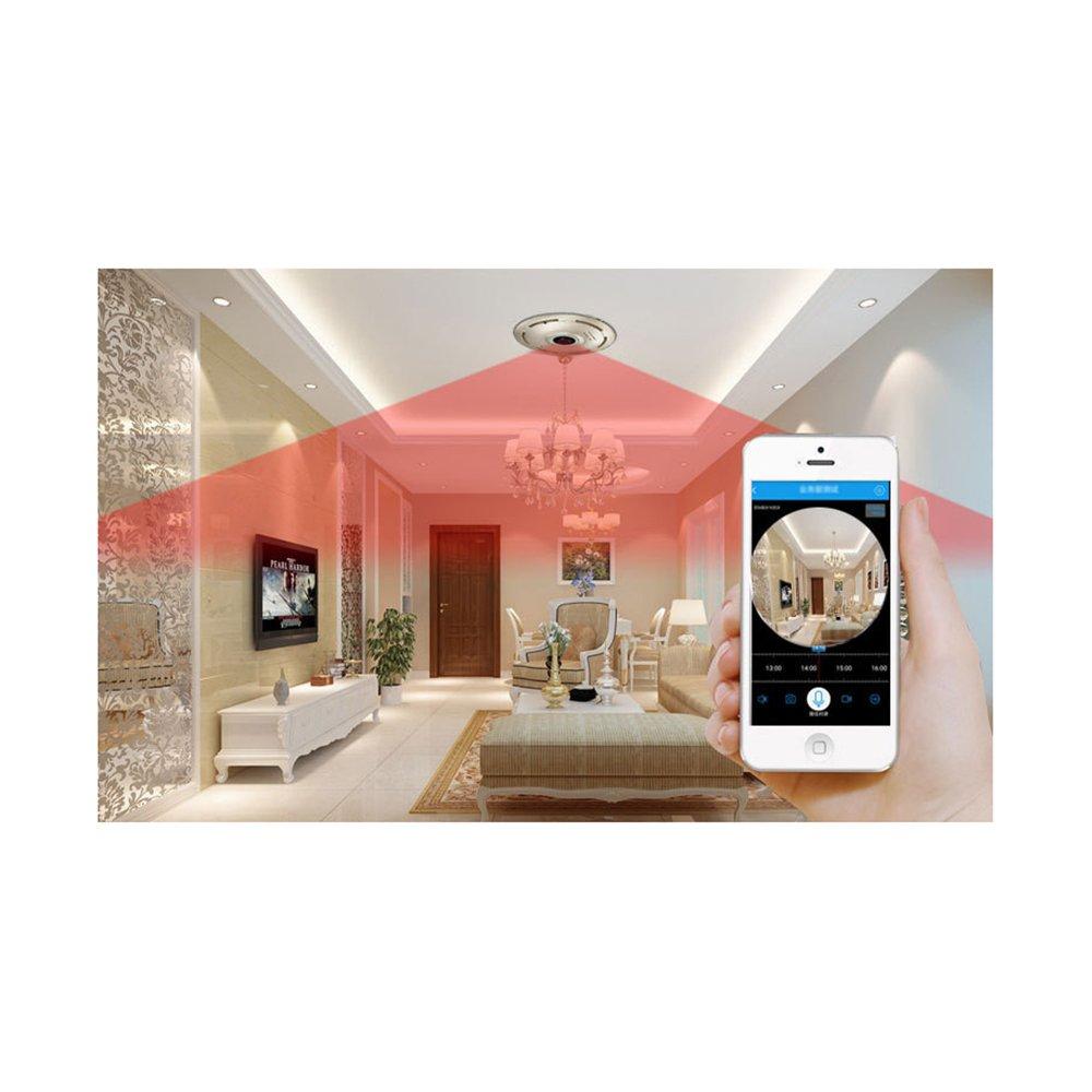 960P Cámara de vigilancia en casa Acción de alarma / 3D estéreo de vigilancia / construido en el micrófono de audio Altavoz Cámara de vigilancia IP Cámara ...