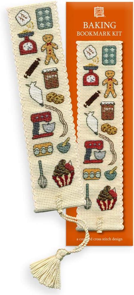 GOLFER Textile Heritage Bookmark Cross Stitch Kit- sport kit needlework kit bookmark kit counted cross stitch kit