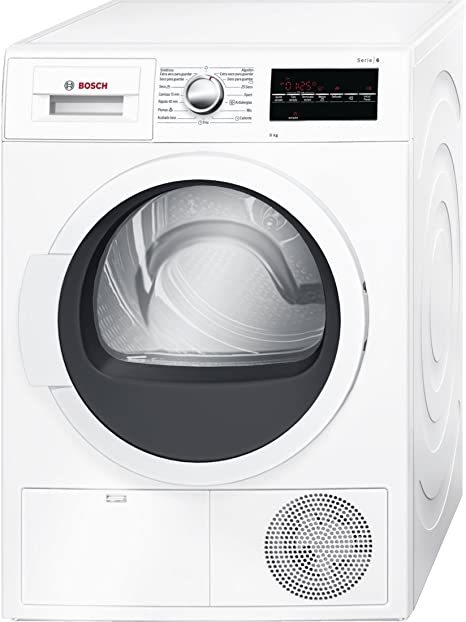 Bosch Serie 6 WTG86209EE Independiente Carga frontal 9kg B Blanco ...