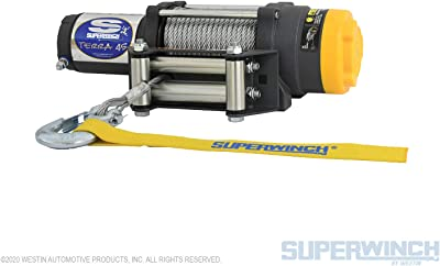 Superwinch 1145220 Terra 45 ATV & Utility Winch (4500lbs/2046kg Rating)
