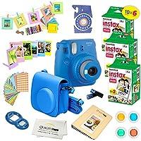 Fujifilm Instax Mini 9 Instant Camera COBALT BLUE w/...