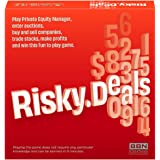 Risky Deals – The Stock Market Game - Bet Wisely, Roll The Dice and Get Rich – Fun Board Game for Adults and Family Night - A