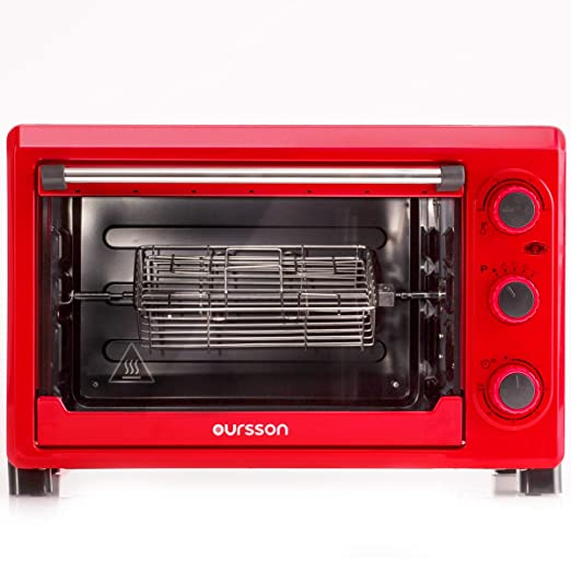 Oursson Mini Horno eléctrico, 26 Litros, 1500 Vatios, Hasta 230°C ...