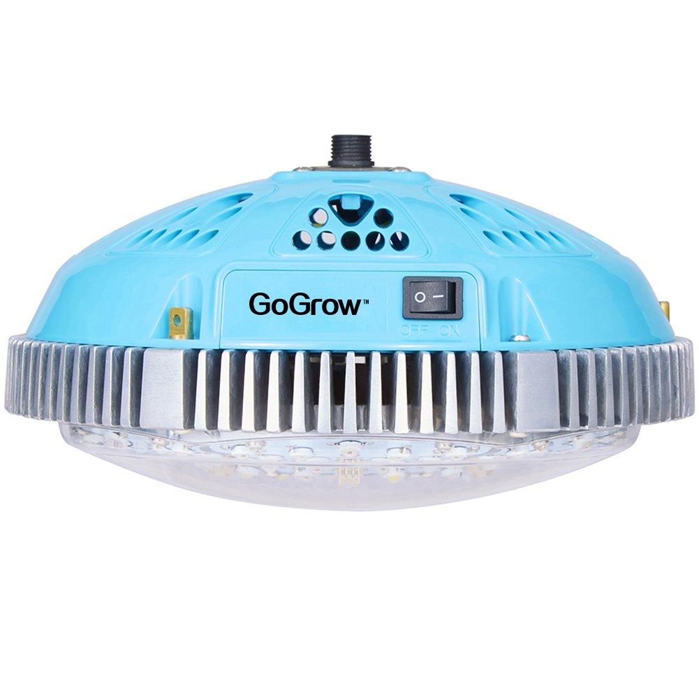 Amazon.com : GoGrow UFO LED Grow Lights, HPS 400W or T5 8X54W ...