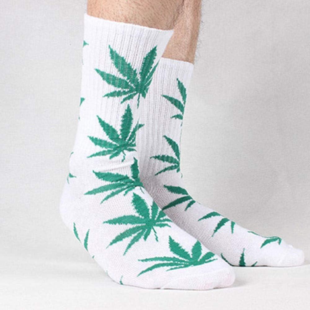 MUZIM Calze hip hop donna uomo caviglia acero calzino canapa foglia meias femminile primavera estate erbaccia skateboard