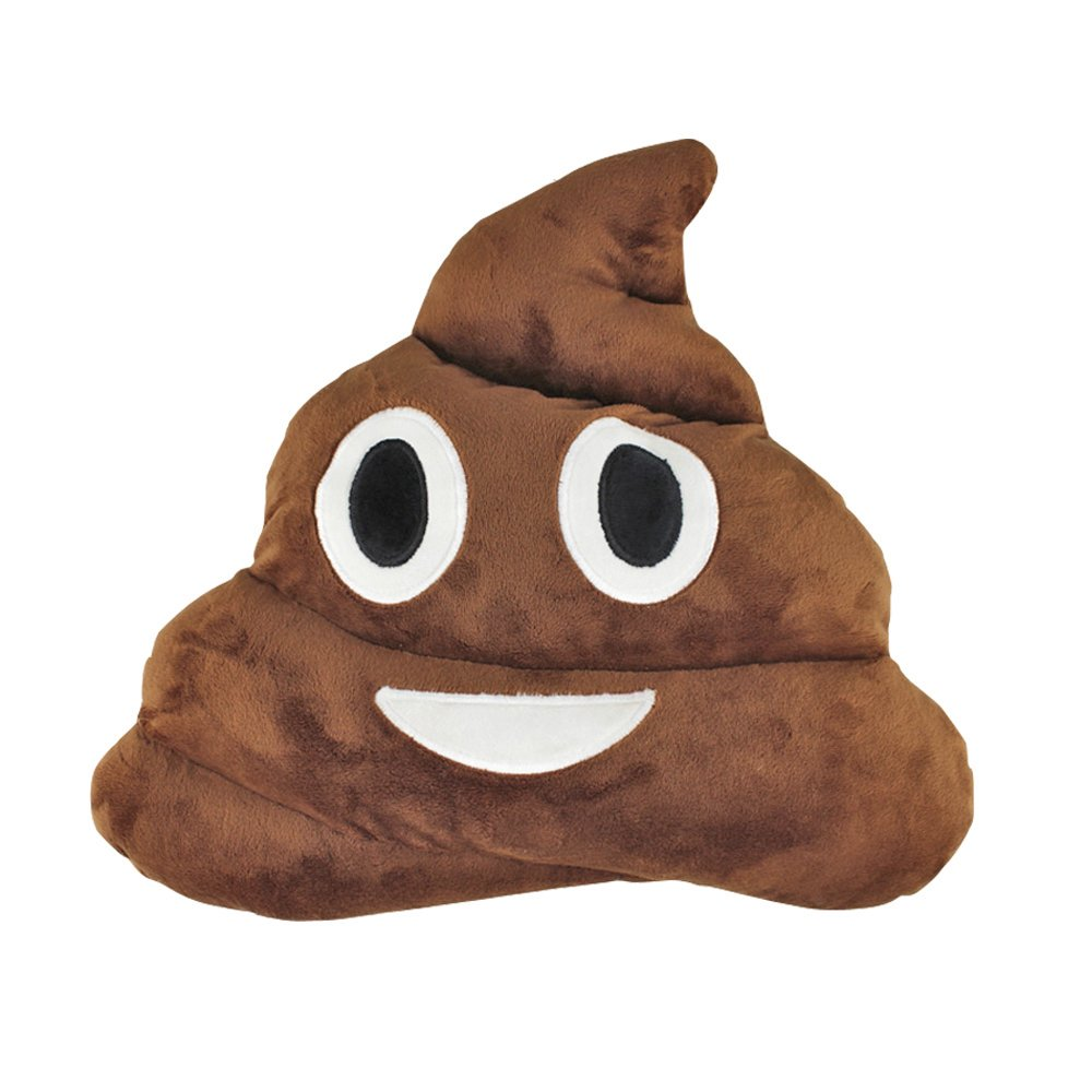 13.8'' Poop Emoji Pillow Plush Toys For Kids Boys Girls,Stuffed Poo Emoji Cushion Pillow Head Pack Pillow Throw Pillow Free Emoji Games Novelty Pillow Plushies For Home Bed Office Sofa Decoration