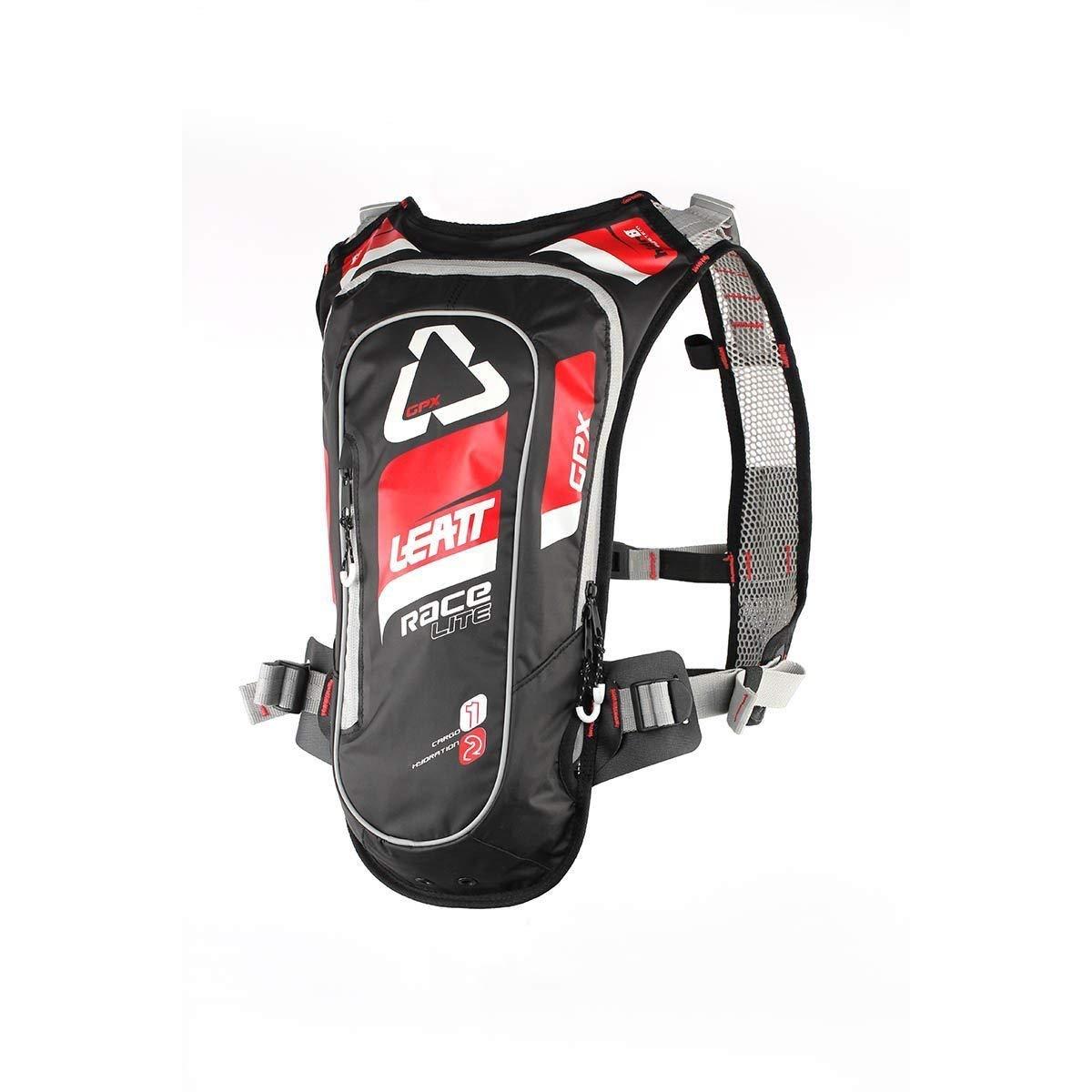 Leatt GPX 2.0 Race HF Hydration Pack-Red/Black by Leatt Brace