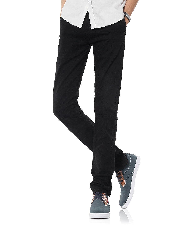 Demon&Hunter 910X Slim-Fit Series Men's Stretch Casual Pants DH9101(34)
