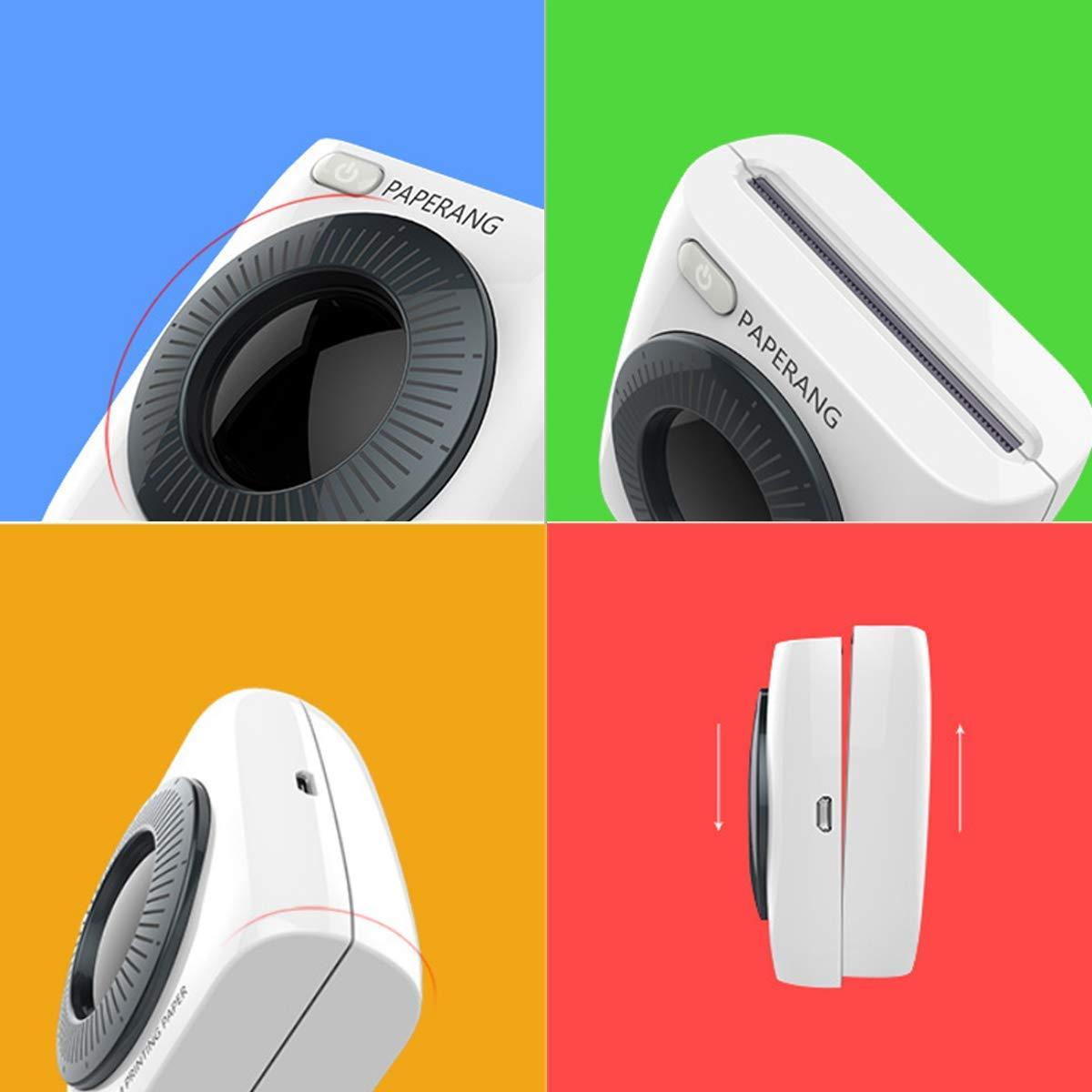 Amazon.com: PAPERANG P2 impresora térmica HD 300dpi bolsillo ...