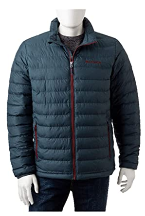 87ca044935f2 Image Unavailable. Image not available for. Color: Columbia Mens Oyanta  Trail Puffer Jacket ...