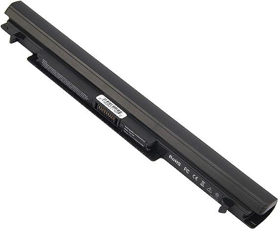BYDT A41-K56 Batería para ASUS K46 K56 A46 S56 K56CB K56C R505 R550 S40 S46 S505 S550 S56 U48 U58 V550 ASUS li-Ion Battery Pack a41-k56 [4 Celdas 2200mAh 14.8V Negro]: Amazon.es:
