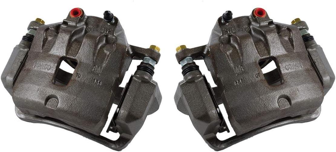 2 CCK01529 FRONT Premium Grade OE Semi-Loaded Caliper Assembly Pair Set