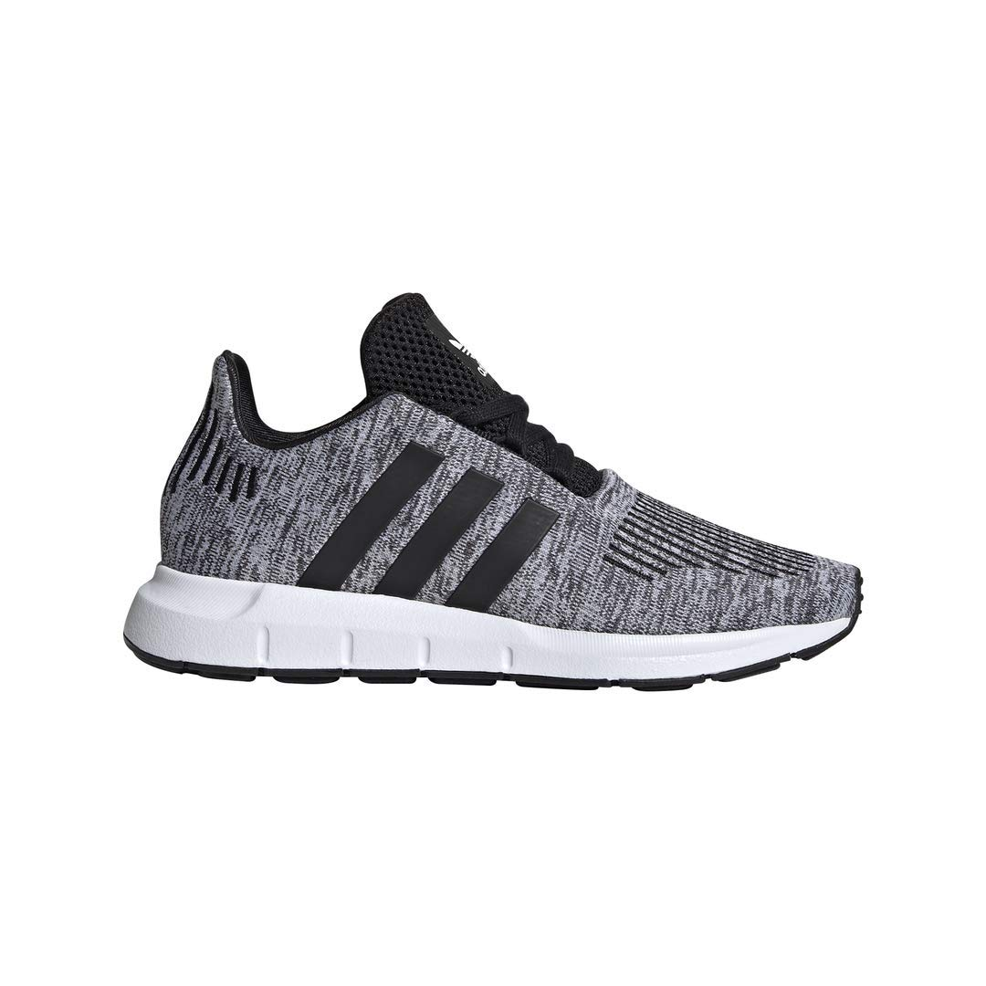 adidas Originals Kids Boy's Swift Run J (Big Kid) White/Black 6.5 M US Big Kid by adidas Originals (Image #1)