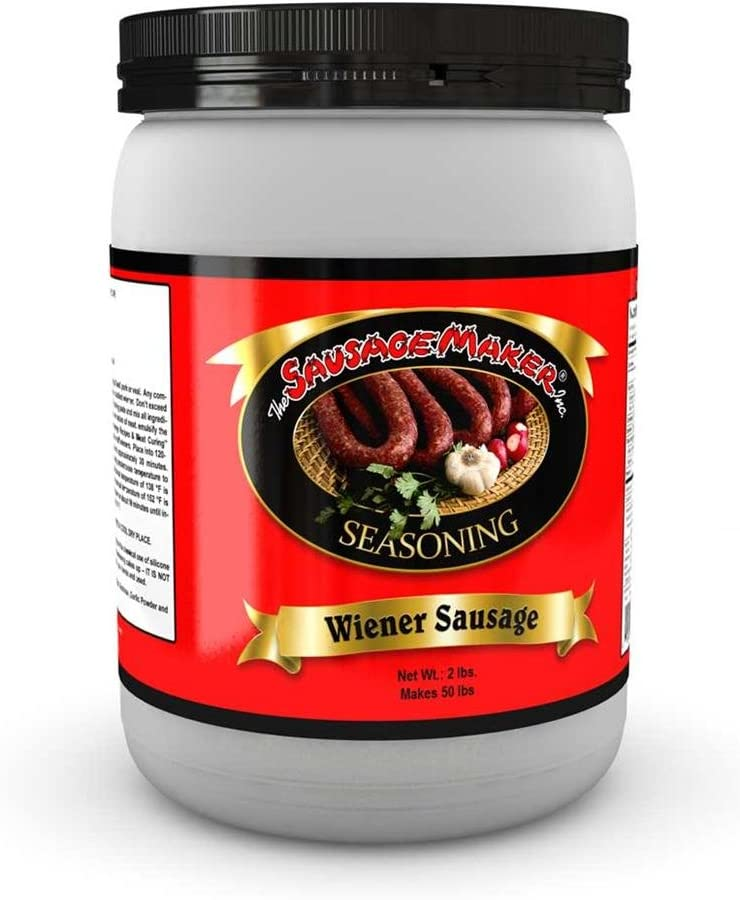 The Sausage Maker - Wiener/Hot Dog Seasoning, 2 lbs.