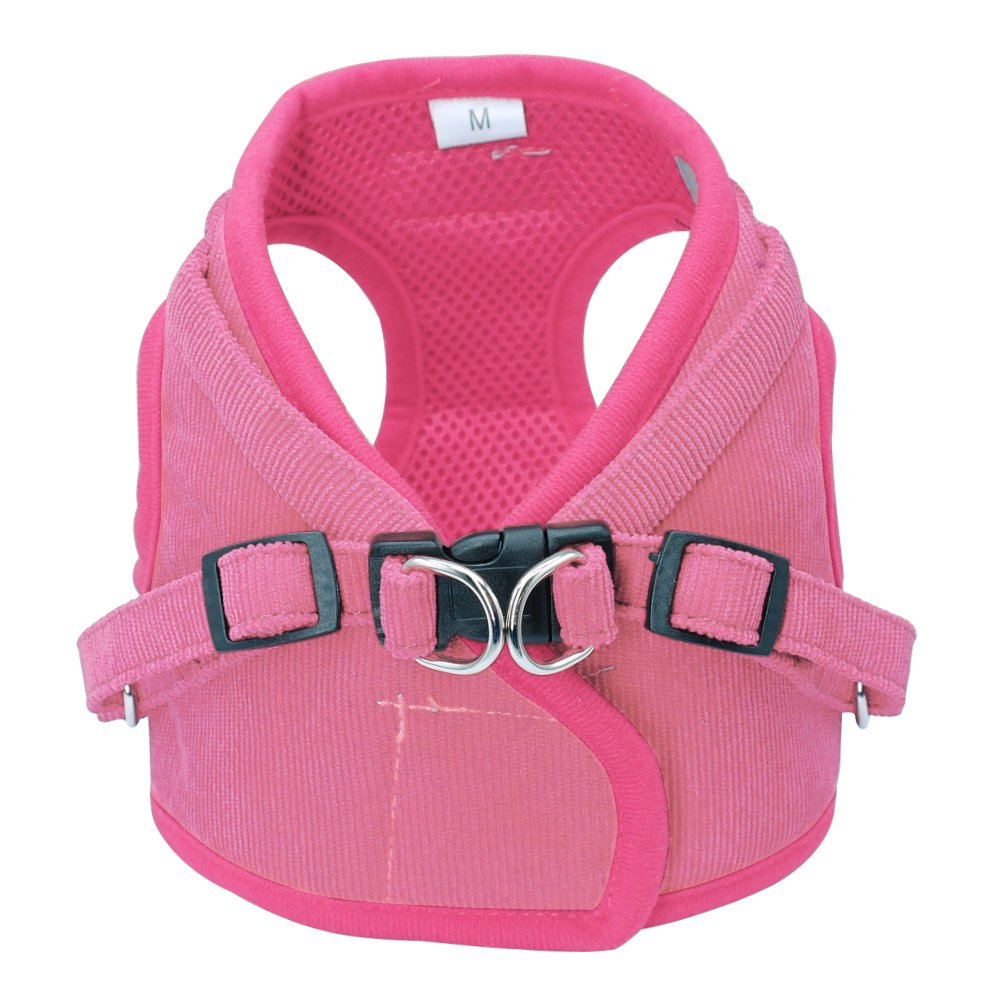 Beirui Reflective Dog Vest & Leash Set - Soft Harness Medium Large Dogs & Cats - Comfort Step-in Mesh Padded Harness 4ft Leash Pet Supplies,Pink Chest 18.5'' by Beirui (Image #2)