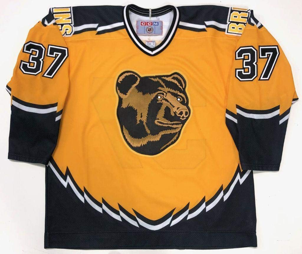 official photos f64b0 5d228 Patrice Bergeron Boston Bruins Ccm Rookie Year 3rd Jersey X ...