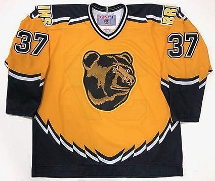 official photos 7d071 c6d3c Patrice Bergeron Boston Bruins Ccm Rookie Year 3rd Jersey X ...