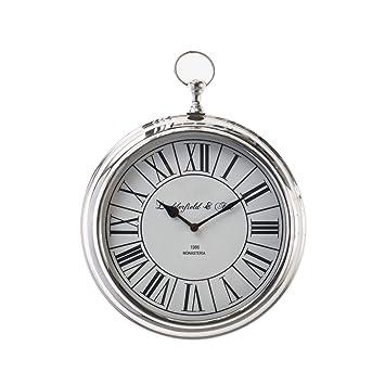 dekoria Reloj de pared Henry 23 cm - Reloj de pared, Reloj, decoración de pared Regalo: Amazon.es: Hogar