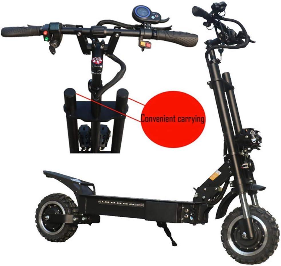 ZGYQGOO Scooter eléctrico Plegable para niños y Adultos - Potente Motor 3200W Scooter E Plegable 60-100KM Rango 200 Kg Velocidad máxima 80Km / H: Amazon.es: Hogar