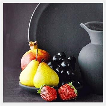 Xiuxiandianju Kreative Wasserkocher Und Geschirr Stilleben Malerei Serie  Dekorativ Gemälde Folie Plane Ohne Rahmen In Der