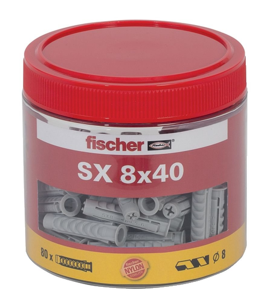 Fischer Spreizdü bel SX 8x40 in DOSE Fischerwerke GmbH & Co. KG 531029
