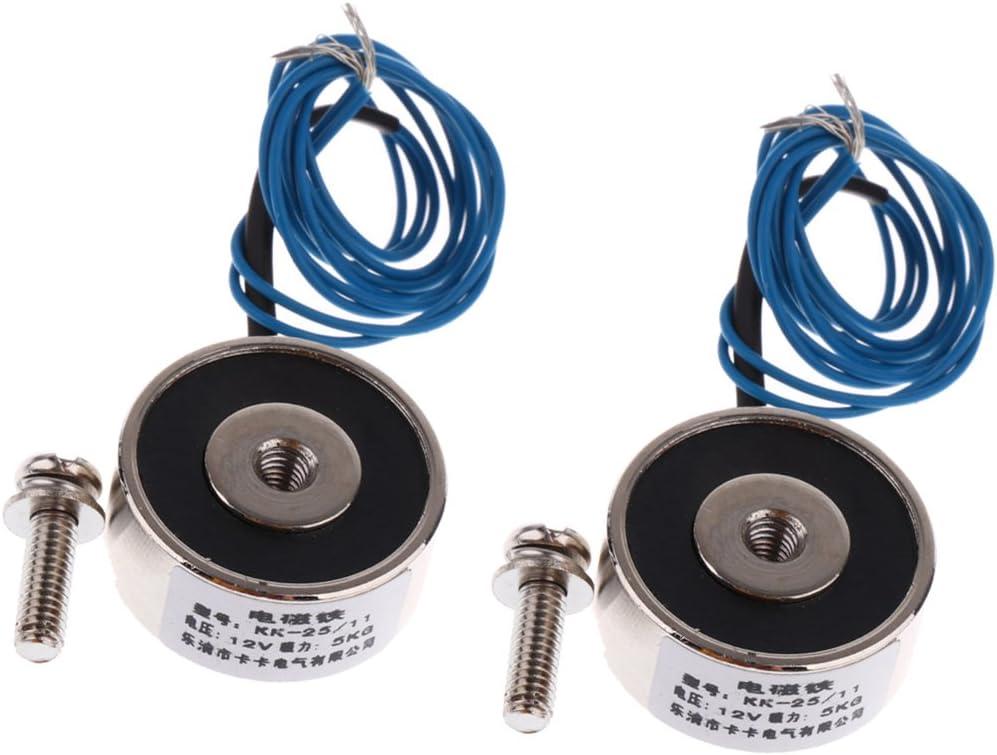 KK-25-11 Elektromagnetische Strom Relaismodul Spule DPDT 12V 2 Stk