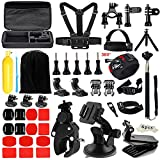 Iextreme Accessories for Gopro 6 5 4 3, Accessory Bundles with Chest Harness/Tripod for APEMAN DBPOWER AKASO VicTsing WiMiUS Rollei Sony Sports DV QUMOX Lightdow And Campark