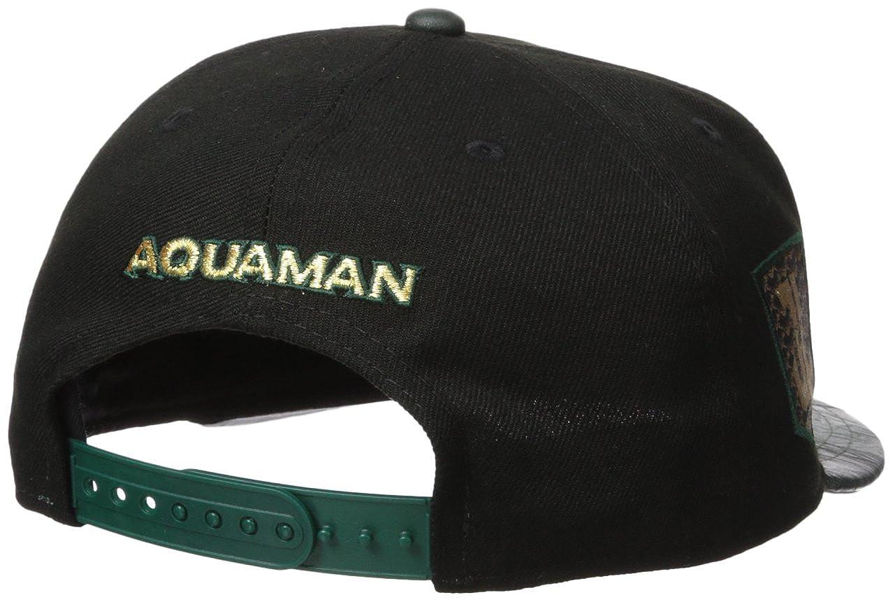 New Era Cap Men s Justice League Aquaman 9FIFTY Snapback Cap f1cd16999d0