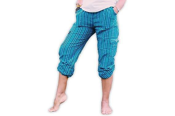 Amazon.com: MadeByNativos - Pantalones de yoga hechos a mano ...