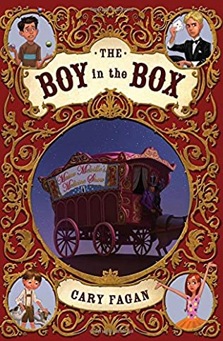 book cover of The Boy in the Box