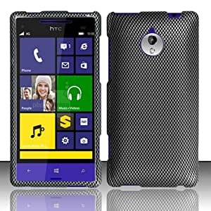 3-in-1 Bundle For HTC 8XT - Hard Case Snap-on Cover (Carbon Fiber)+ICE-CLEAR(TM) Screen Protector Shield(Ultra Clear)+Touch Screen Stylus