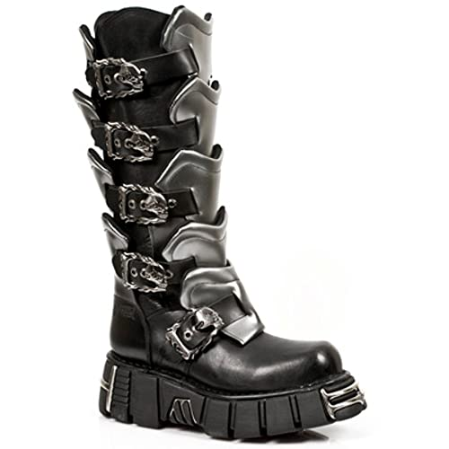 6f4516e48 New Rock Boots Style 738 S1 Black: Amazon.co.uk: Shoes & Bags