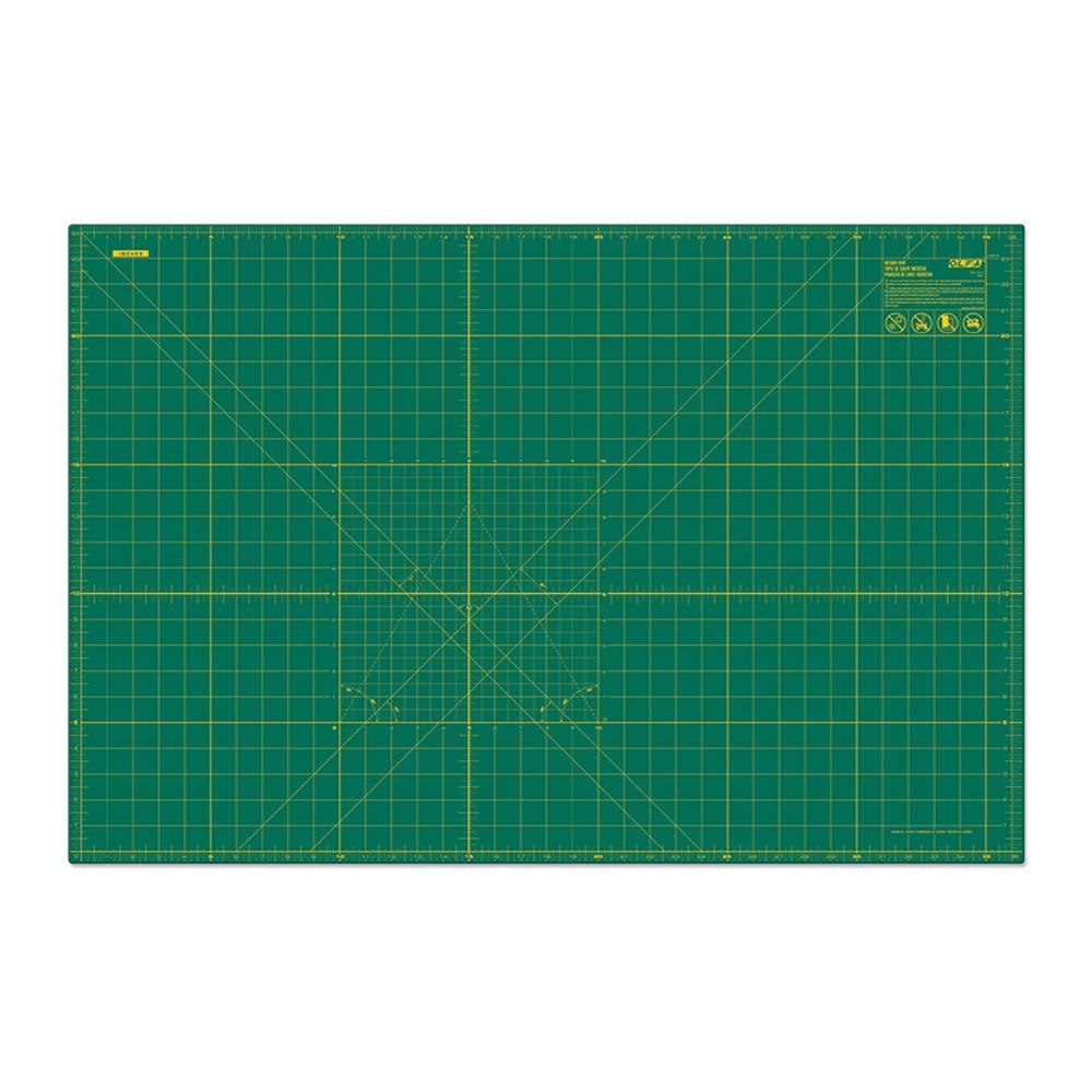 Olfa Cutting Mat with Grid 24' x 36' Green