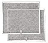 "Appliances : Broan BPS1FA30 Replacement Filters for QS1 and WS1 30"" Range Hoods, Aluminum, 2-Pack"